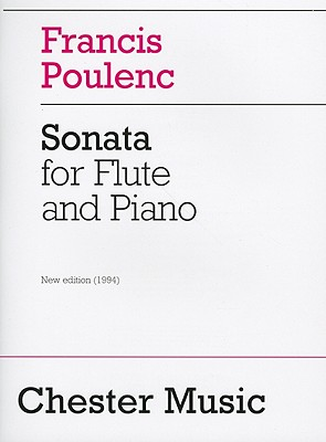 Sonata for Flute and Piano By Poulenc, Francis (COP)/ Schmidt, Carl B. (EDT)/ Harper, Patricia (EDT)